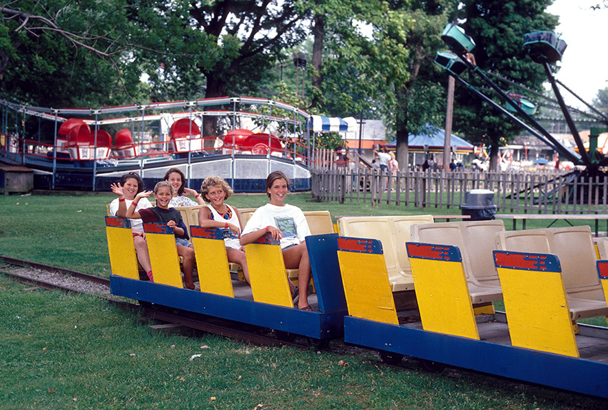 Erieview Park Railroad Gotl Summer Fun Heritage Trail
