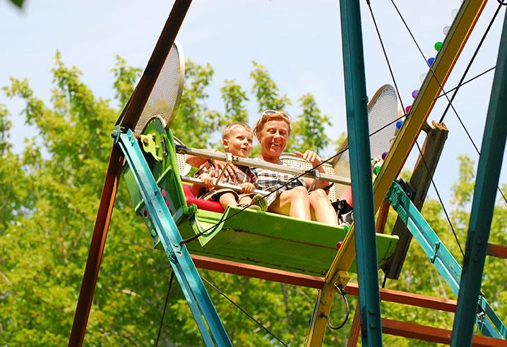 Ferris Wheel Gotl Summer Fun Heritage Trail